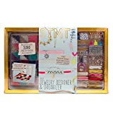 STMT Ultimate DIY Jewelry Set by Horizon Group Usa, Create Choker Necklaces, Beaded Bracelets & Alphabet Jewelry. Over 3000 Vsco Girl Jewelry Making Accessories, Storage Case & Guide Included