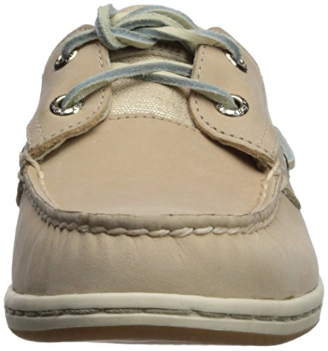 Boat Linen Sperry Top Medium 9 Us Shoe sider 5 Women's Sparkle Koifish wFqX0A