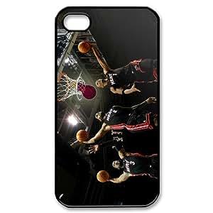 Custom Miami heat Case for iPhone 4 4s