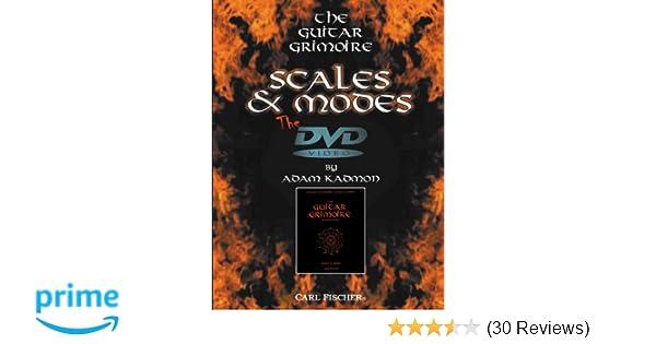 Amazon.com: Adam Kadmon: Guitar Grimoire - Scales and Modes: Adam ...