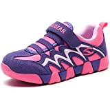 Boy Sneakers Hook and Loop Kids Sports Running...