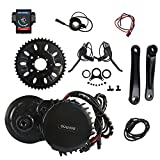 8fun Bafang BBS03/BBSHD Lastest Model 48V 1000W Ebike Electric Bicycle Motor Mid Drive Electric Bike Conversion Kit (68MM-850C) For Sale