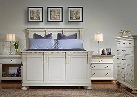 Amazon Com Bebe Furniture Panel Bed Eastern King 524379 Og 145597