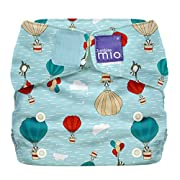 Bambino Mio, Miosolo All-In-One Cloth Diaper, Onesize, Sky Ride
