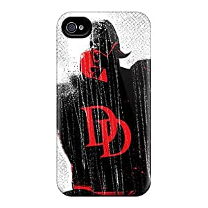 ErleneRobinson Iphone 4/4s High Quality Hard Phone Case Allow Personal Design Attractive Daredevil I4 Series [isN12831ldID]