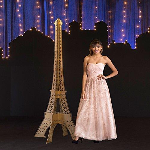 7 ft. Paris France Parisian Chic Slotted Eiffel