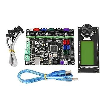 Cikuso Accesorios de Impresora 3D Mks Gen L+Mini12864 ...