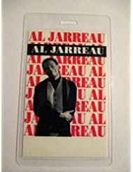 Al Jarreau Laminated Backstage Pass