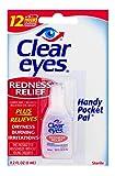Clear Eyes   Handy Pocket Pal Redness Relief Eye Drops   0.2 FL OZ