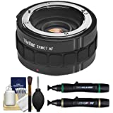 Vivitar Series 1 2x Teleconverter (7 Elements) + Accessory Kit for Sony Alpha A-Mount Lenses & Digital SLR Cameras