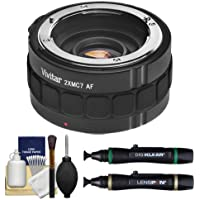 Vivitar Series 1 2x Teleconverter (7 Elements) + Accessory Kit for Sony Alpha Lenses & Digital SLR Cameras