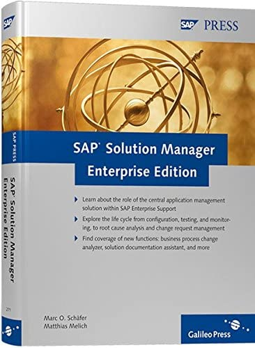 SAP Solution Manager Enterprise Edition manual de software 547 páginas - Software de consulta (547 páginas, Marc O. Schäfer, Matthias Melich)
