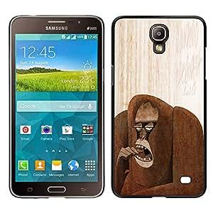 Stuss Case / Funda Carcasa protectora - Mono Art Dibujo Bosque; - Samsung Galaxy Mega 2