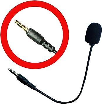 Reemplazo de micrófono Boom Mic 3.5mm Compatible para Turtle Beach ...