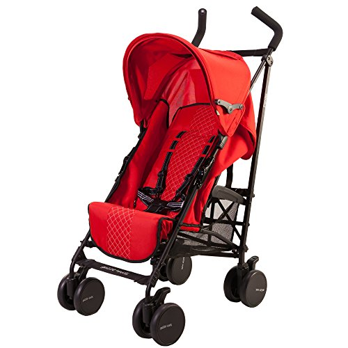 guzzie+Guss Pender Umbrella Stroller, Red