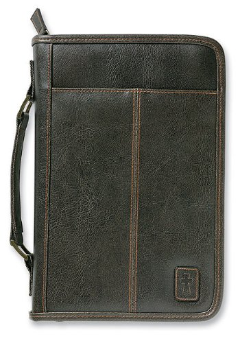 Aviator Leather-Look Brown Extra Large Book and Bible Cover from Zondervan Gifts