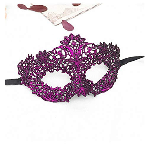 Womens Mask Lace Mask for Masquerade Halloween Party Sexy Women Lady Eye Masks for Fancy Costume Venetian Party Supply Accessories Lm022 Lm022B -