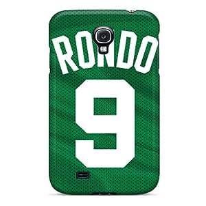 Fashion Tpu Case For Galaxy S4- Boston Celtics Defender Case Cover
