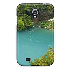 CDH5433LKmQ BretPrice Awesome Case Cover Compatible With Galaxy S4 - Plitvice Lake
