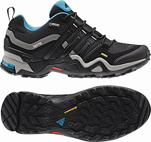 GORE Spatzierungsschuhe X Fast AW15 Trail Women's Terrex TEX Schwarz Adidas wB0EqZxt