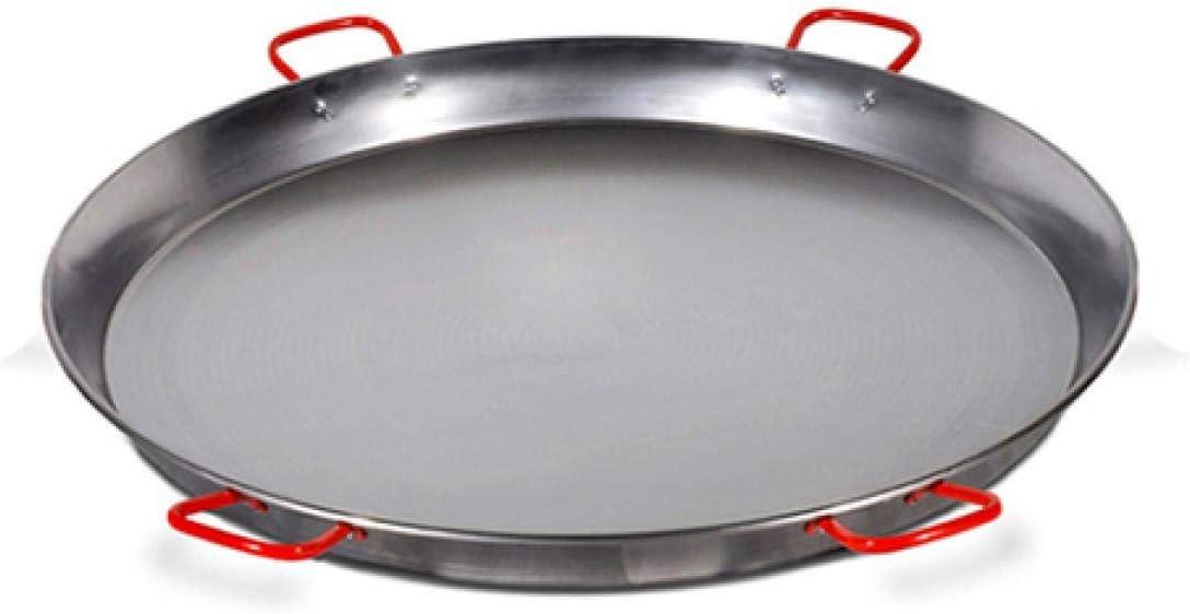 Paellera valenciana de 100 cm pulida para 85 personas Garcima 5020078