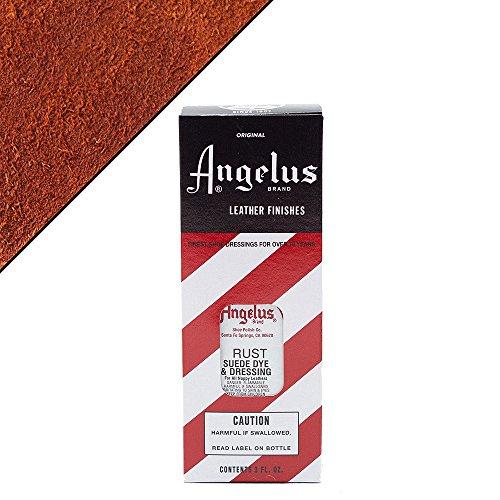 Angelus Suede Dye Rust