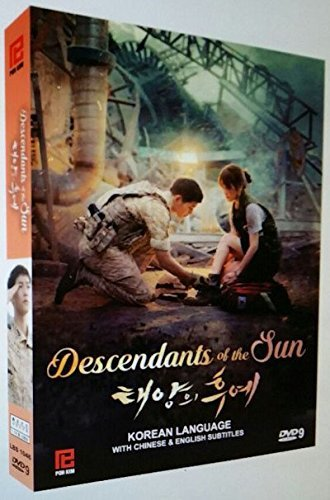 Descendant Of The Sun (Korean TV series) Region Free DVD set