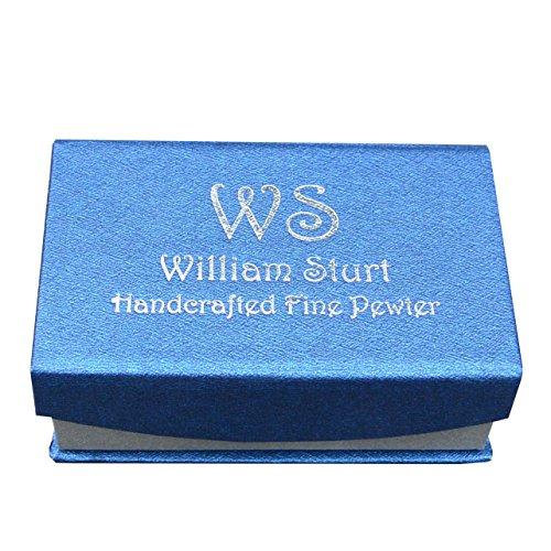 William Sturt Fine Pewter Luxury Handmade Fine Pewter Honey Bee Cufflinks by William Sturt Fine Pewter (Image #2)