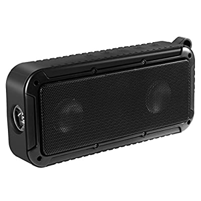 Portable Bluetooth Speaker,LESHP Wireless Speaker IP66 Waterproof Dust-proof Anti-scratch Shockproof Bluetooth Speaker with LED Lighting Function for Outdoor Bike Riding Hiking from LESHP