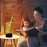 Bedoo Christmas Gift Magic Saxophone Lamp 3D
