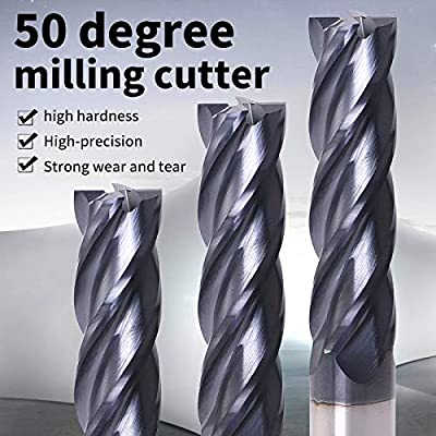 4 Flute Tungsten Metal Tools Alloy Carbide Tungsten Steel Milling Cutter Mill