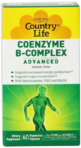 Country Life Coenzyme B Complx Advanced Capsules, 60