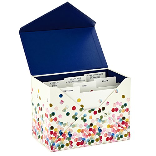 Hallmark All Occasion Handmade Boxed Set of Assorted Greeting Cards with Card Organizer (Pack of 24)—Birthday, Baby, Wedding, Sympathy, Thinking of You, Thank You, Blank Photo #5