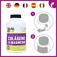 Colágeno Hidrolizado Con Magnesio | Vitamina C | Vitamina D | Protege tus Huesos, Articulaciones y Piel | 300 comprimidos: Amazon.es: Salud y cuidado personal