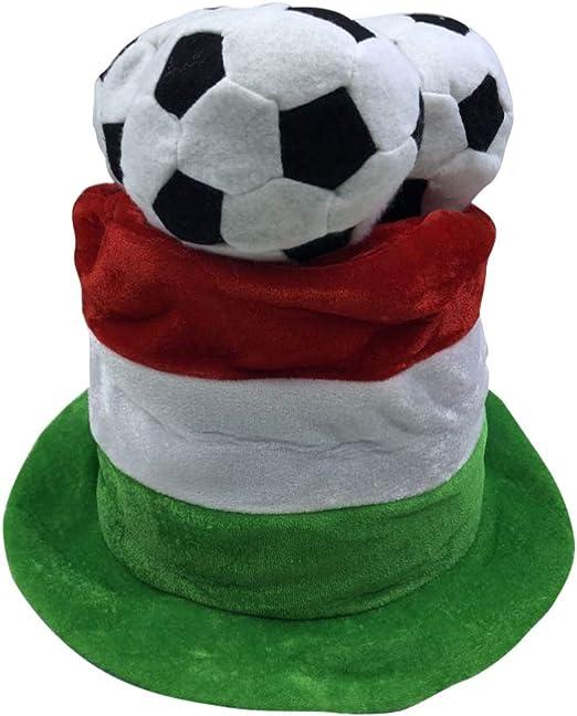 Amosfun - Gorro de fútbol con Forma de Pelota de fútbol para ...
