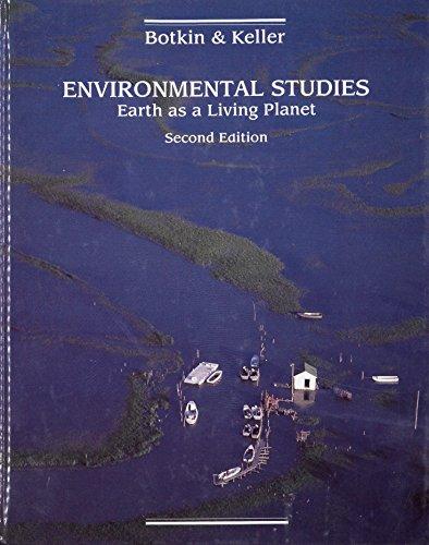 Environmental Studies: Earth As a Living Planet