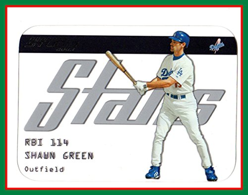 2003 Studio Stars #41 Shawn Green LOS ANGELES DODGERS (see-thru card) ()