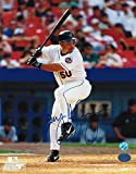 Benny Agbayani New York Mets Autographed 8x10 Photo At Bat - Signed MLB Photos