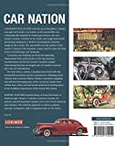 Front cover for the book Car Nation: An Illustrated History of Canada's Transformation Behind the Wheel by Dimitry Anastakis