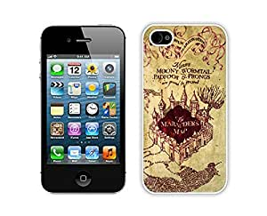 iphone 4S Cases,iphone 4 Case,Colorful Hbrid With Dot Case Cover Protector For iphone 4 4S,Harry Potter Marauders Map Iphone 4 4s Cases White Cover