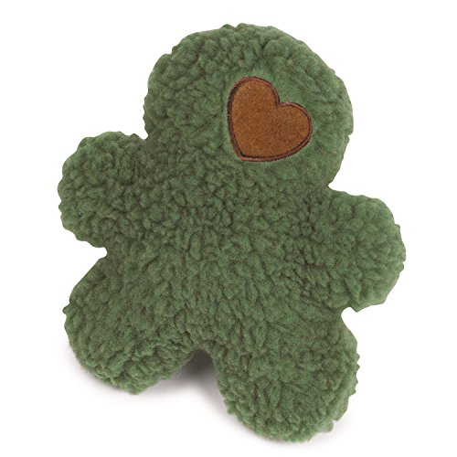 Cheap Grriggles 8-1/2-Inch Poly Berber Fleece Yukon Boy Dog Toy, Light Olive