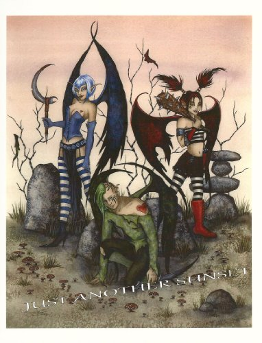 When Faeries Go Bad Amy Brown Open Edition 8.5