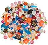 Sax 1436169 Vintage and Antique Cabochon Mix, 1 lb, Assorted Sizes and Colors