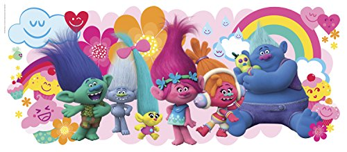 Trolls Movie Giant Wall Graphic