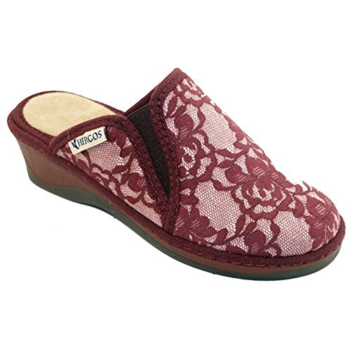 chaussure Hergos Confortable Bordeaux 664 Sabot Hiver H Rouge 7ttqwCFT