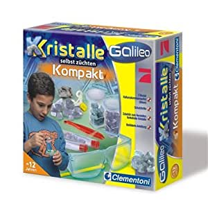 Clementoni 69864  - Galileo - Juego de piedras cristalizadas para observar y coleccionar [importado de Alemania]