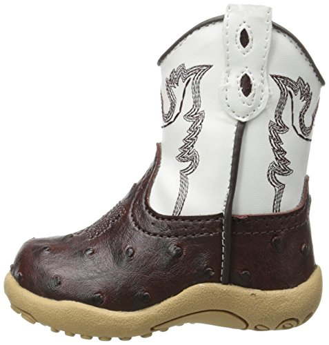Pictures of Roper Cowbaby Ostrich Western Boot (Infant/Toddler) 5