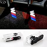 COGEEK 2 PCS LED Car Door Courtesy Laser Projector Logo Ghost Shadow Light for BMW (M)