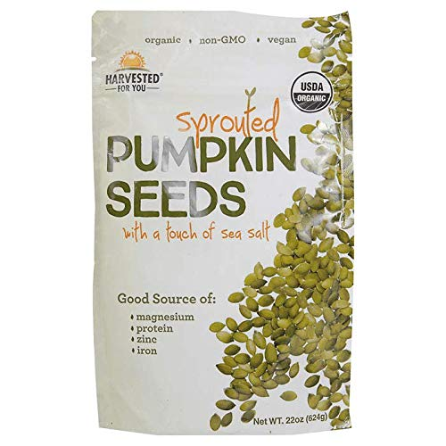 Harvested For You Sprouted Pumpkin Seeds Net Wt (22 Oz) by Harvested for You