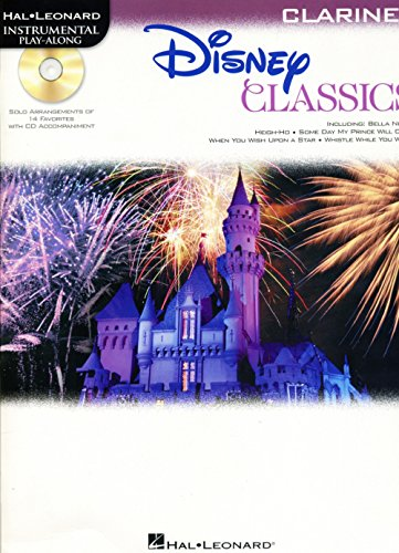 Hal Leonard Disney Classics Instrumental Play Along (Book/CD) Clarinet (Disney Solos For Clarinet)